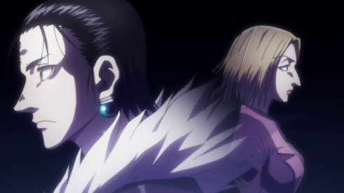 Chrollo and Pakunoda
