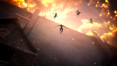 Attack on Titan Jump