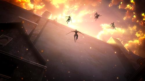 Attack on Titan Jump