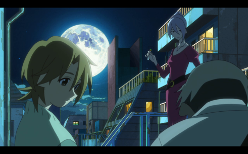 The Eccentric Family at Night
