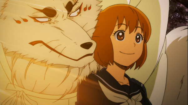 Gingitsune Mako and Gin