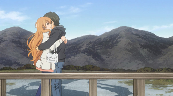 Golden Time Episode 24 Banri x Koko