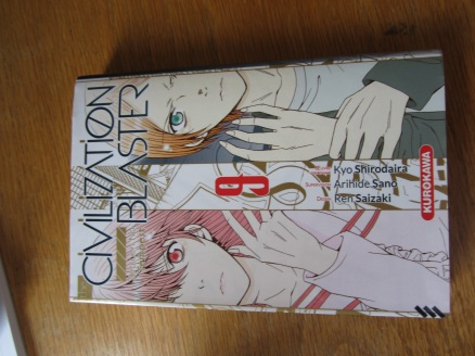 The only thing I cam back with was a French version of the final volume of Blast of Tempest, with the intention of translating the ending chapters myself. I heard there was a bit more information in them than what was in the anime, and French should be fairly easy to translate to English.
