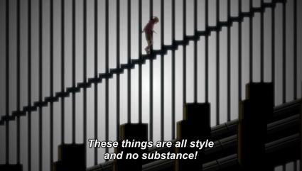 Mekaku City Actors Episode 2 Style Substance