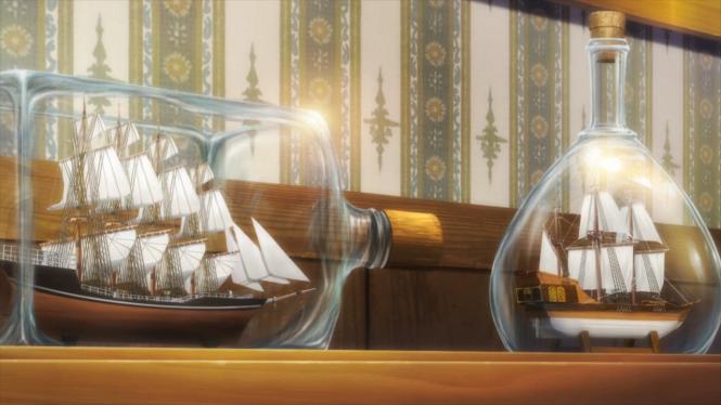 Gochiusa Ships in Bottles