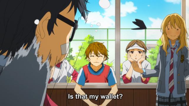 Image result for anime stolen wallet