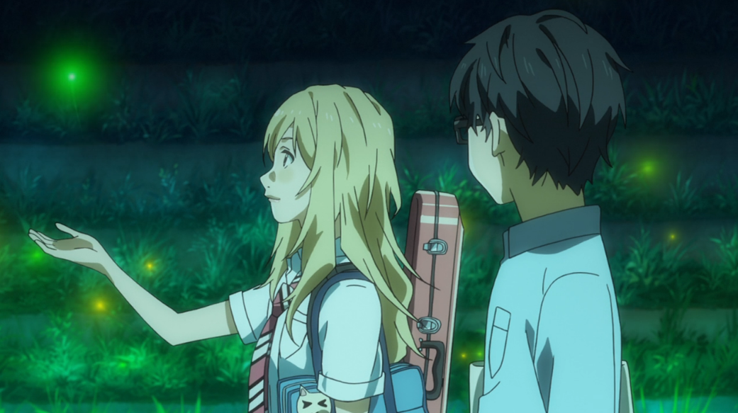 Your Lie In April Cat Gif