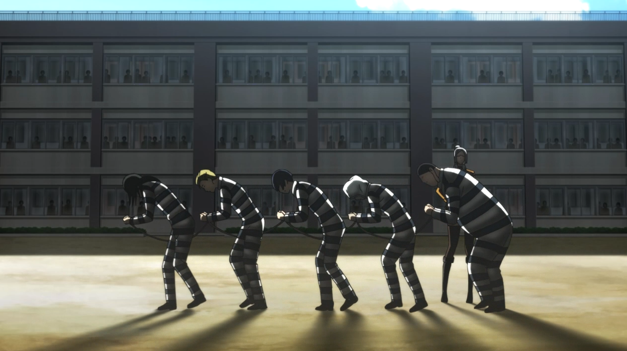 Prison school anime episode 1