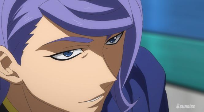 Gundam Tekketsu Episode 4 Gaelio Look