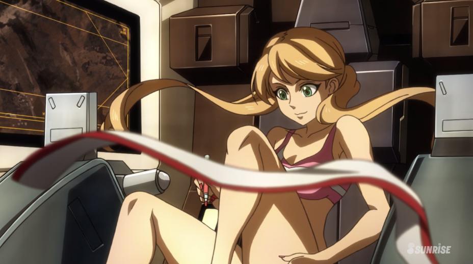 Gundam For The Barrel: Gundam Tekketsu Episode 7 Lafter Intro