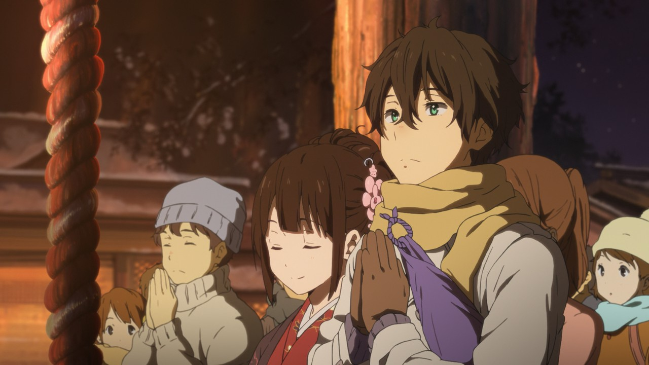 hyouka episode 20 � mage in a barrel