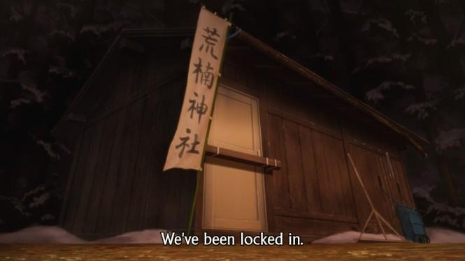 Hyouka 20 Trapped