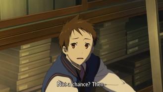 Hyouka 21 Oreki Snaps 1