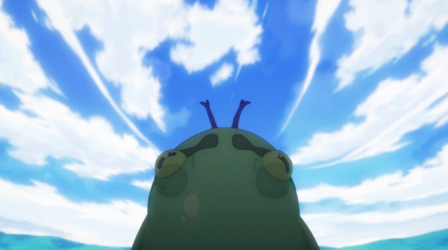 Konosuba Frog Eat